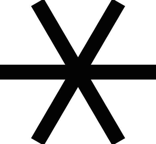 Asterisk Symbol Typographical Symbol Asteriscus Mu
