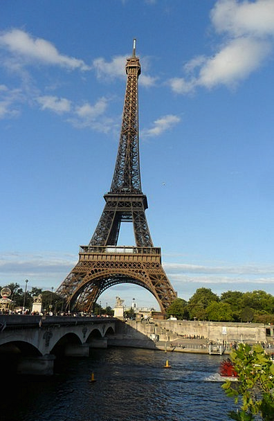 Eiffel Tower Vacation Travel France Paris Rest Tow