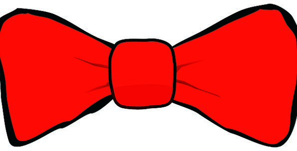 Bowtie Fashion Bloodshot Beauty Tie Draw Red Costu