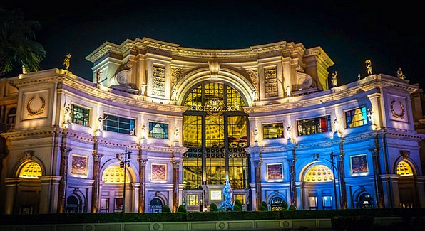 Caesars Palace Buildings Architecture Luxury Treat