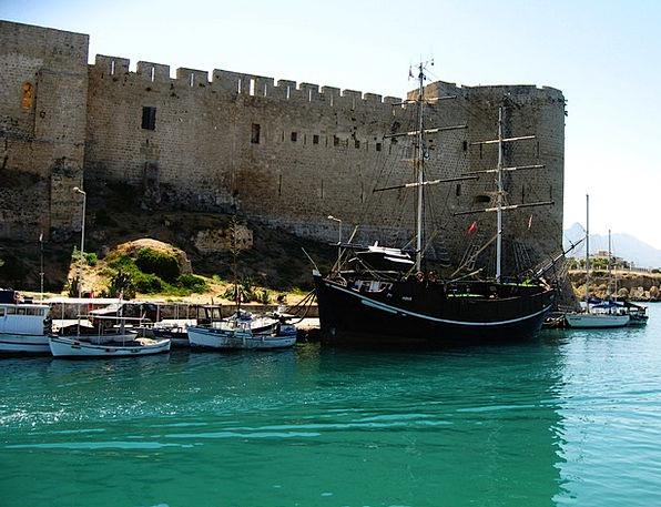 Kyrenia Buildings Architecture Castle Fortress Cyp