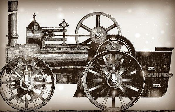 Locomotive Track Train Pullman Railroad Historic I