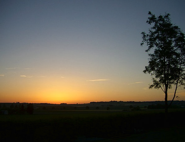 Morgenstimmung Landscapes Nature Sunrise Dawn Morn
