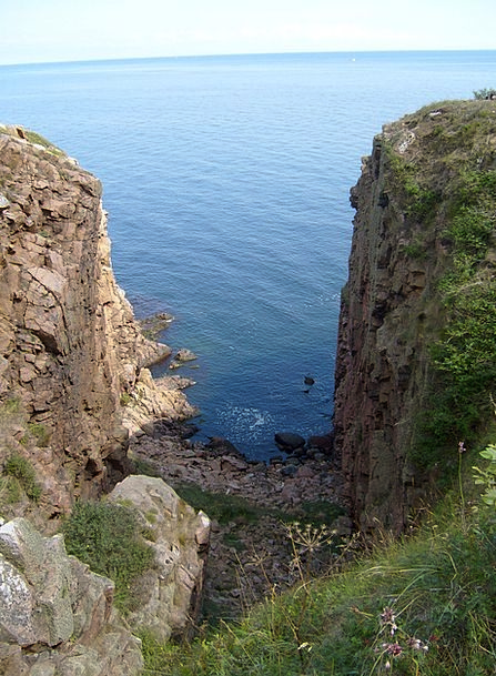 Bornholm Gorge Valley Coastal Path