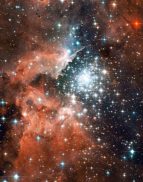 Ngc 3603 Constellation Group Emission Nebula Astro