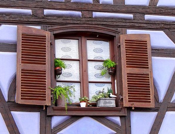 Window Gap Buildings Closes Architecture Truss Bin