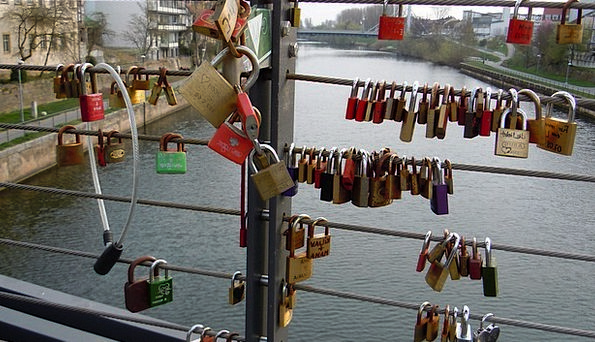 Locks Hairs Bond Romantic Idealistic Bridge Famous