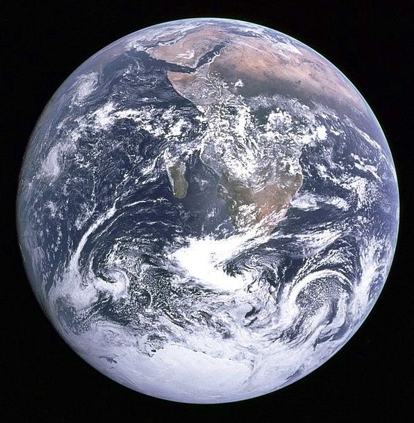 Earth Soil Globe Sphere Blue Planet Space Travel S