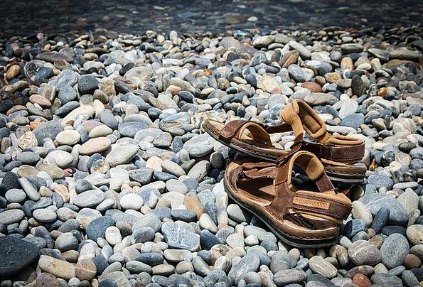 Sandals Flip-flops Vacation Straw-hat Travel Holid