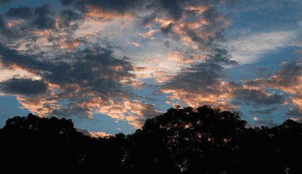 Dusk Twilight Vacation Travel Clouds Vapors Sun Su