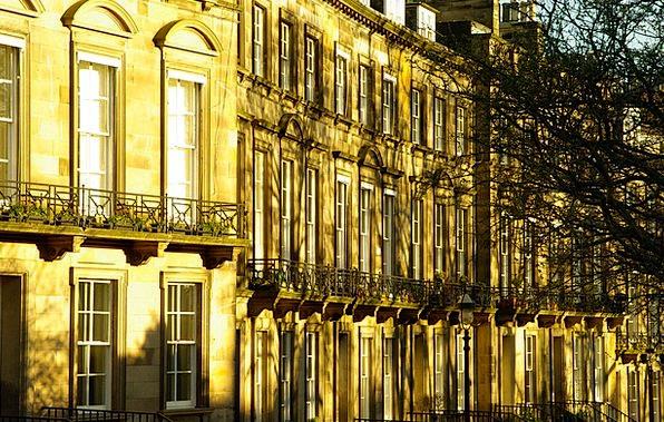 Scotland Buildings Architecture Facades Frontages