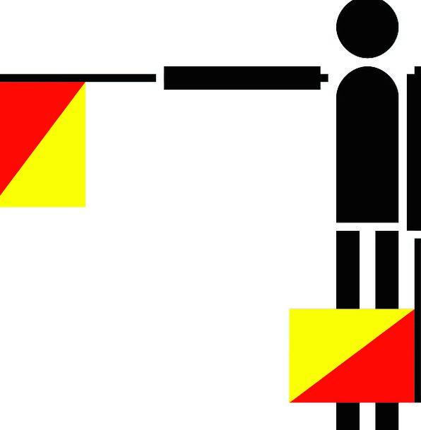 Semaphore Communication Standard Computer F Flag C