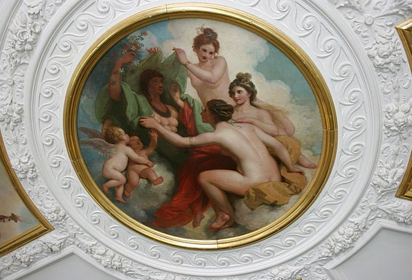 Painted Ceiling Royal Academy Of Art Decorative Pl