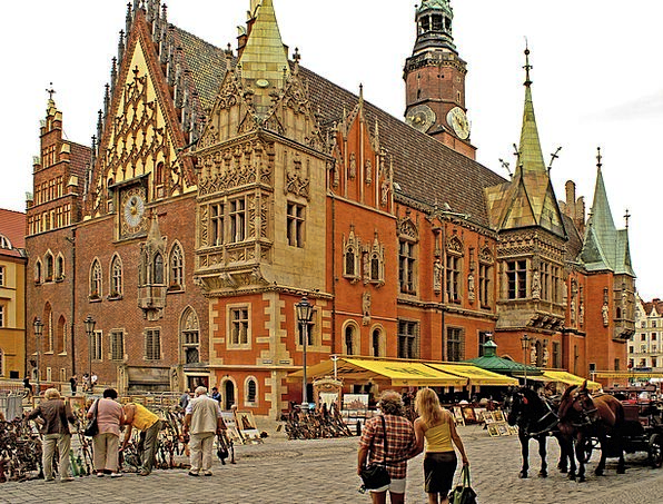 Poland Buildings Architecture City Urban Lower Sil