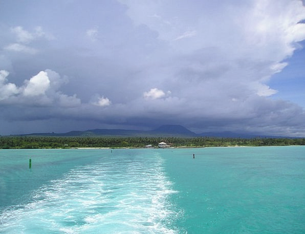 Sea Marine Blue Azure Turquoise Samoa Exotic South