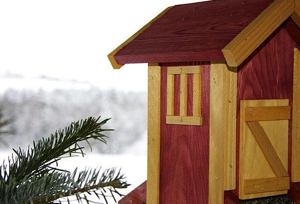 Aviary Birdcage Season Snow Snowflake Winter Fat B