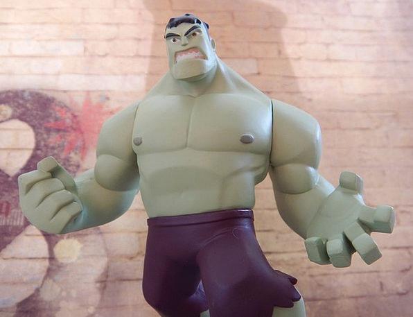 Hulk Giant Champion Angry Annoyed Superhero Power