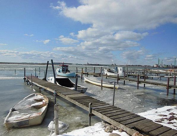 Natural Harbor Landscapes Breakwater Nature Ice Fr