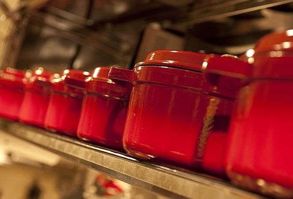Pot Vessel Cooking Culinary Cuisine Red Pot