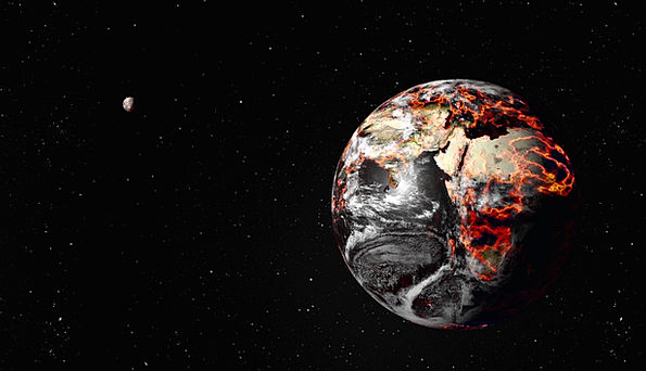 Apocalypse Soil Destruction Obliteration Earth Dar