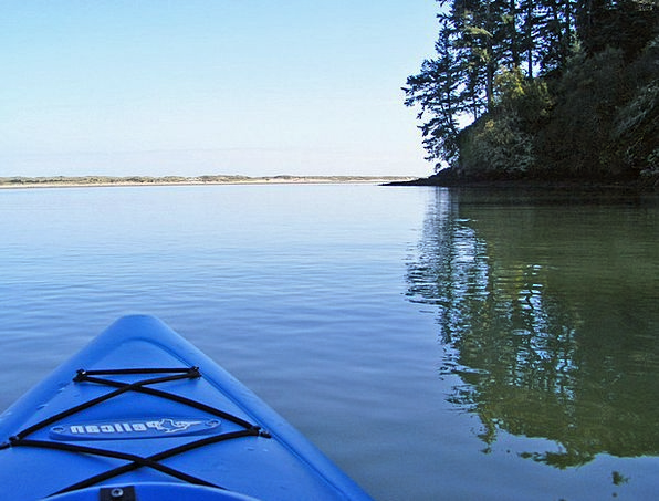 Kayak Landscapes Nature River Stream Kayaking Padd