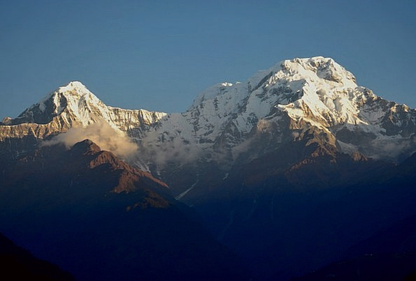 Annapurna Landscapes Hiking Nature Mountain Crag T