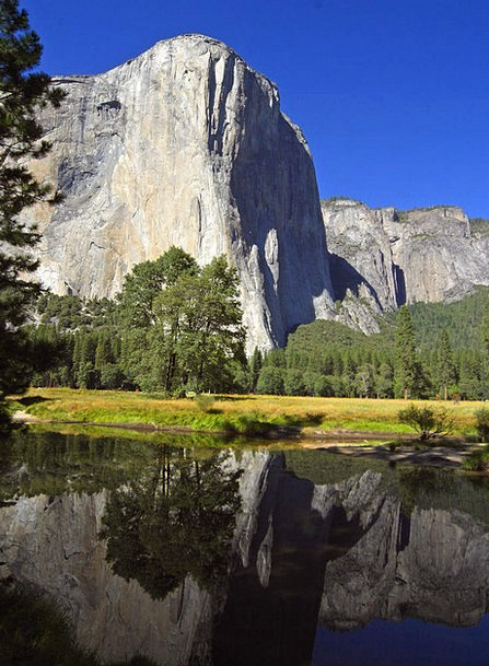 El Capitan Landscapes Nature Valley Vale Yosemite
