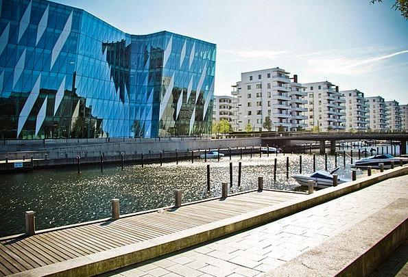 Copenhagen Harbor Sea Marine Port Dock Berth Build