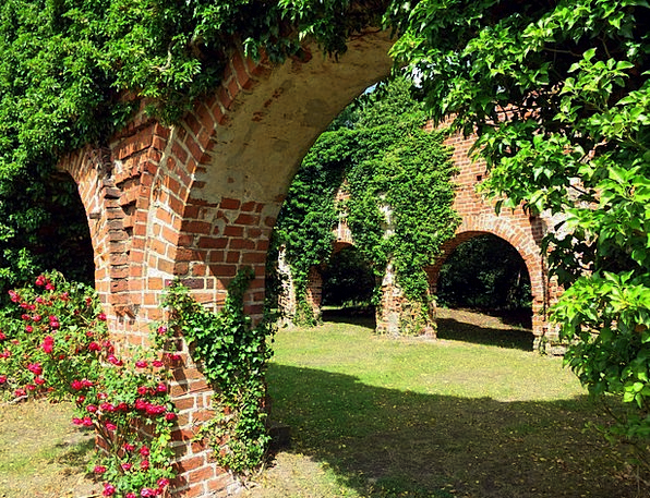Archway Arch Stonework Brick Element Masonry Monas