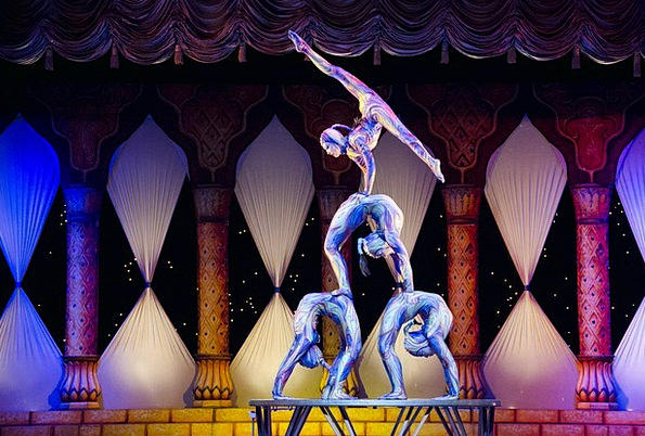 Acrobats Gymnasts Event Contortion Frown Circus Ti