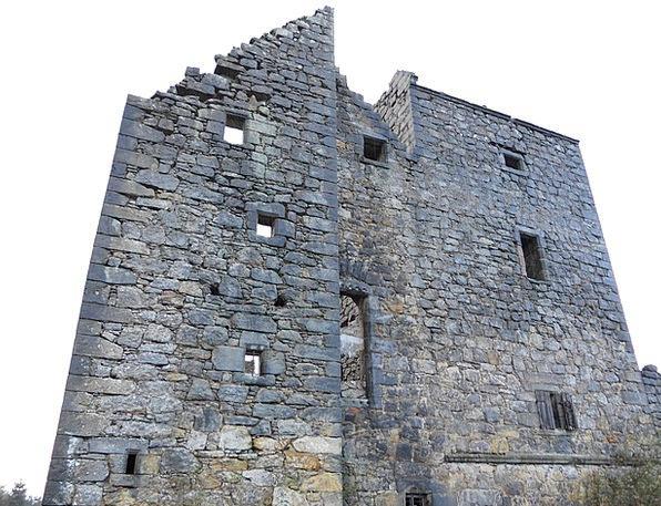 Castle Fortress Buildings Architecture Derelict Di