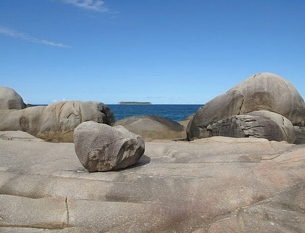 Rocks Pillars Landscapes Marine Nature Coastline S