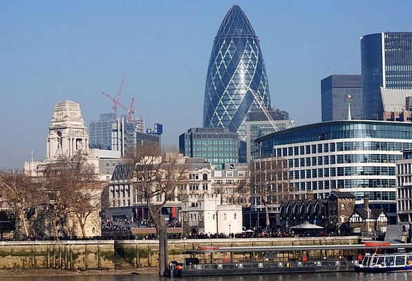 The Gherkin Buildings Architecture Great Britain T