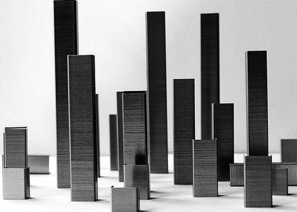 City Urban Buildings Nonconcrete Architecture Mode