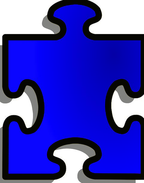 Jigsaw Mystery Shape Form Puzzle Free Vector Graph