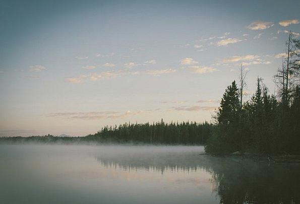 Lake Freshwater Landscapes Haze Nature Foggy Uncle