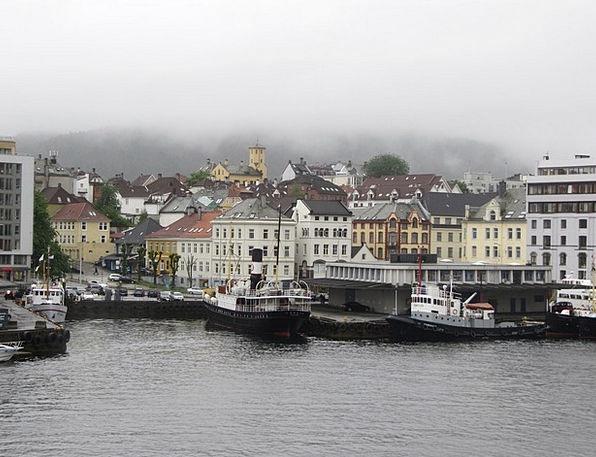 Norwegian Buildings Season Architecture Fog Mist W