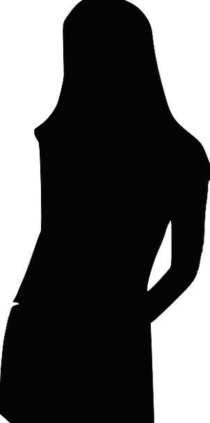 Silhouette Feminine Outline Plan Female Figure Pos