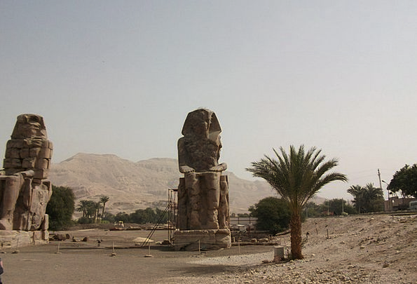 Egypt Famous Well-known Luxor Old Ancient Pharaohs