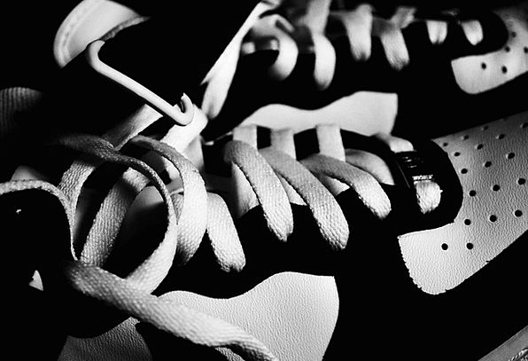 Shoes Laces Ties Nike Binding Compulsory Lacie Sne