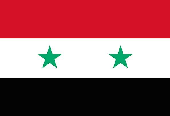 Syria Standard National Flag Flag Nationality Nati