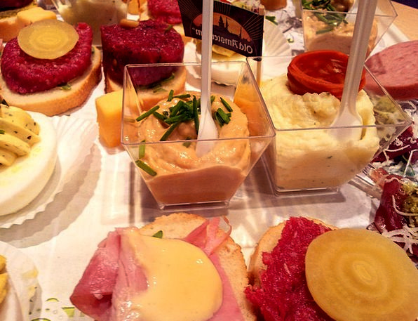 Amuse Charm Nibbles Party Gathering Snacks