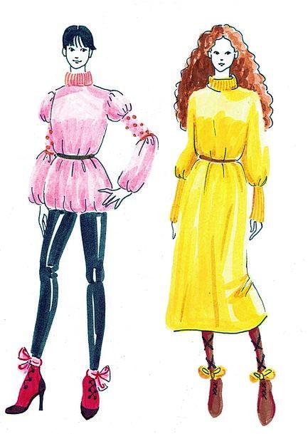 Fashion Style Fashion Beauty Woman Lady Fashion Dr