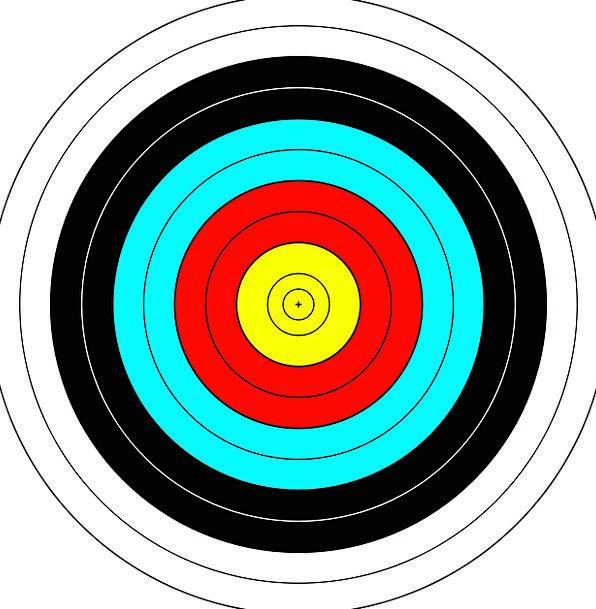 Target Board Arch Playful Dart Game Sports Sportin