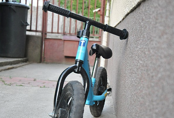 Bike Motorbike Azure Student Scholar Blue Kid Chil
