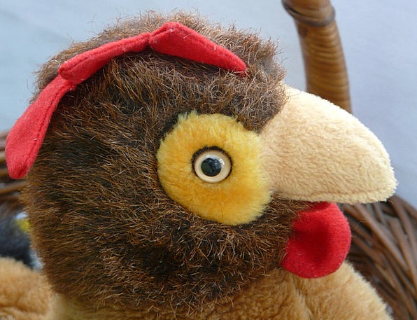 Chicken Cowardly Fowl Hahn Hen Cuddly Soft Toy Ted