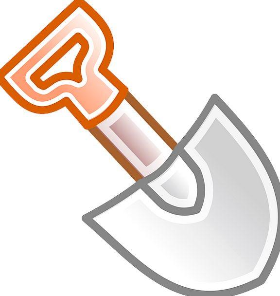 Shovel Spade Craft Industry Excavator Hand Tool Di