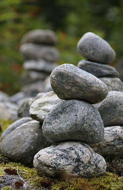 Stack Heap Landscapes Gravels Nature Rocks Pillars