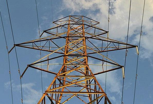 Power Lines Barbican Metal Metallic Tower Steel St