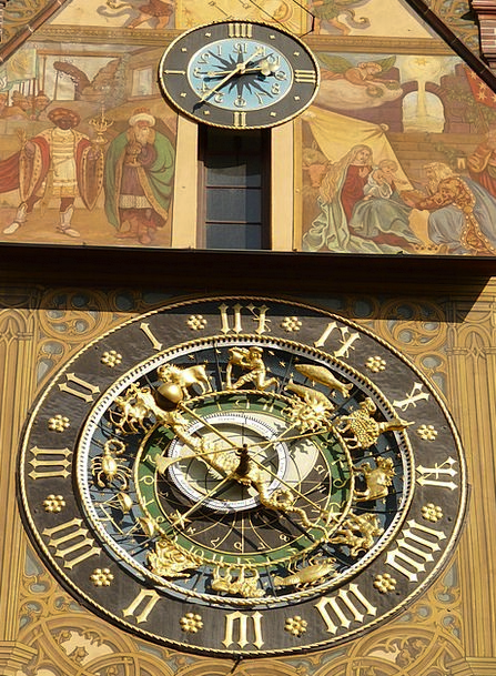 Astronomical Clock Vacation Timepiece Travel Time